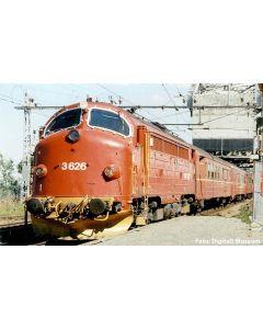Topline Lokomotiver, nmj-topline-90020-nsb-di3a-626-nohab-dc-nmjt, NMJT90020