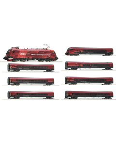 Personvogner Internasjonale, roco-73267-74084-74087-obb-railjet-dcc, ROC74084