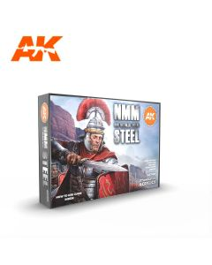 AK Interaktive, ak-interactive-ak11601-non-metallic-metal-steel-nmm-set-with-6-paints-17-ml-third-generation-acrylics, 11601