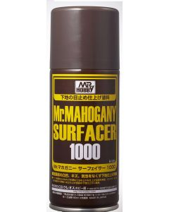 Mr. Hobby, mr-hobby-b-528-mr-mahogany-surfacer-1000-170-ml, MRHB528