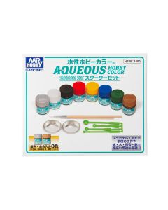 Mr. Hobby, mr-hobby-hs-30-aqueous-hobby-color-starter-set, MRHHS30