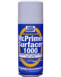 Mr. Hobby, mr-hobby-b-524-mr-primer-surfacer-1000-gray-170-ml, MRHB524