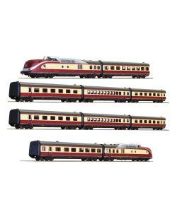 Lokomotiver Internasjonale, roco-71935-74079-db-br-601-alpen-see-express-dcc-med-lyd, ROC71935