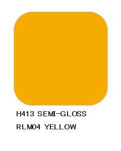 Mr. Hobby, mr-hobby-h-413-yellow-rlm04-10-ml-aqueous-hobby-color, MRHH413