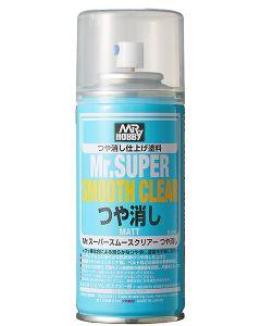 Mr. Hobby, mr-hobby-b-630-mr-super-smooth-clear-flat-matt-170-ml, MRHB530