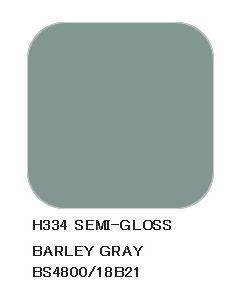 Mr. Hobby, mr-hobby-h-334-barley-gray-bs4800-18B21-10-ml-aqueous-hobby-color, MRHH334