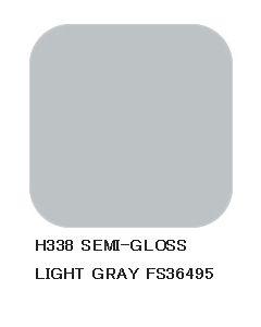 Mr. Hobby, mr-hobby-h-338-light-gray-fs-36495-10-ml-aqueous-hobby-color, MRHH338