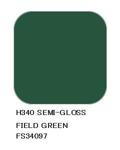 Mr. Hobby, mr-hobby-h-340-field-green-fs-34097-10-ml-aqueous-hobby-color, MRHH340