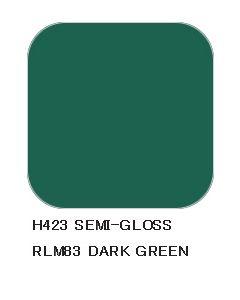 Mr. Hobby, mr-hobby-h-423-dark-green-rlm83-10-ml-aqueous-hobby-color, MRHH423