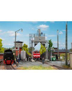 Stasjoner og jernbanebygninger (Auhagen), auhagen-11461-moderne-sandingsanlegg, AUH11461