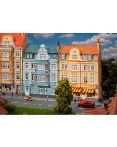 Bolighus og bygårder (Faller), 2 Bygårder, Fasade/Bakgrunnbygning, FAL191757