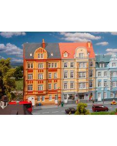 Bolighus og bygårder (Faller), 2 Bygårder, Fasade/Bakgrunnbygning, FAL191758