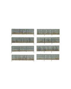 Woodland Built & Ready, Tregjerde, 8 Deler, 121 Cm, 0-Skala, WODA3005