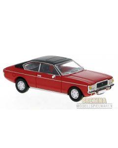 Personbiler, Ford Granada MK I Coupe, Rød/Sort, PCX870017