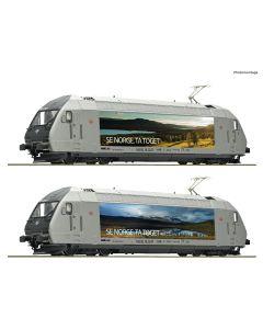 Lokomotiver Norske, roco-78659-nsb-el-18-2247-se-norge-ta-toget-motivlakkering-ac-med-lyd, ROC78659