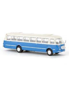 Busser, Jelcz 043 Buss, Elfenben/Blå, 1960, BRE58255
