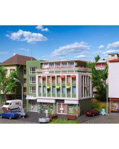 Vollmer, Moderne Bygård m/ Bank Filial, N-Skala, VOL47729