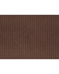 Detaljering, Takstein, Mørkerød, 3D Strukturplate, 28 x 10 Cm, NOC60351