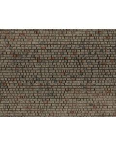 Detaljering, Steinmur, 3D Strukturplate, 28 x 10 Cm, NOC60372