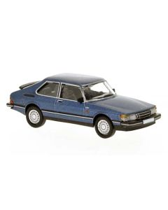 Personbiler, Saab 900 Turbo, Blå Metallic, PCX870122