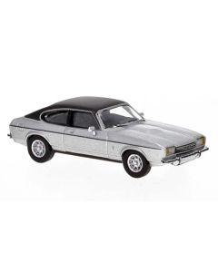 Personbiler, Ford Capri Mk.II, Sølv Metallic/Sort, PCX870068