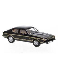 Personbiler, Ford Capri Mk.II, Sort/Gull, PCX870070