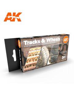 AK Interaktive, Traks & Wheels 3G, Paint sett, AKI11672