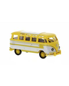 Personbiler, Volkswagen T1b Samba, Gul/Grå, BRE31845