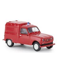 Varebiler, Renault R4 Fourgonnette, Brannbil, BRE14747