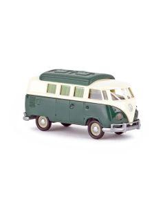 Personbiler, Volkswagen T1b Camper, Elfenben/Grønn, BRE31603