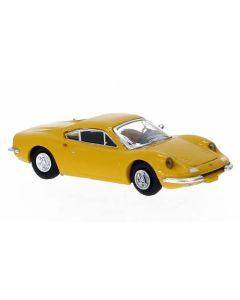 Personbiler, Ferrari Dino 246 GT, Gul, PCX870218