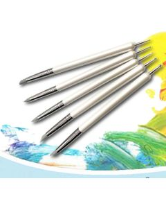 Pensler, Gummipensler & Sculping Tools, 5 Stk, MAN3016