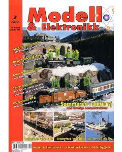 Blader, Modell & Elektronikk 2/2021, Teknisk Hobbyblad, MOE0221