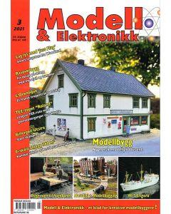 Blader, Modell & Elektronikk 3/2021, Teknisk Hobbyblad, MOE0321