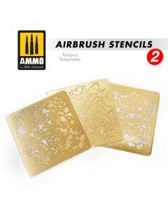 Mig, Airbrush Stencils, Texture Templates, Vol. #2, MIG8049