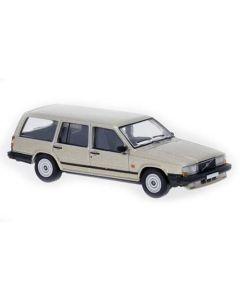 Personbiler, Volvo 740 Stasjonsvogn, Beige Metallic, PCX870112