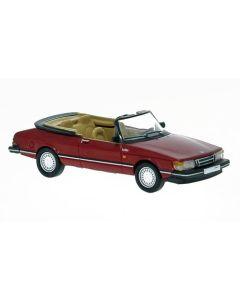 Personbiler, SAAB 900 Cabriolet, Rød, PCX870127