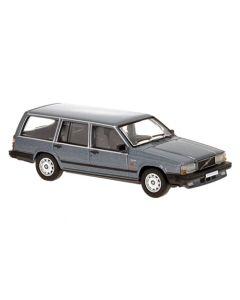 Personbiler, Volvo 740 Stasjonsvogn, Mørkegrå Metallic, PCX870114