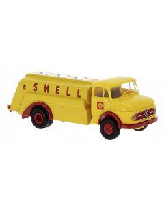 Lastebiler, Mercedes-Benz L 322 Tankbil, Shell, BRE47036