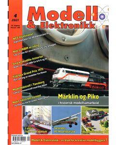 Blader, Modell & Elektronikk 3/2021, Teknisk Hobbyblad, MOE0421
