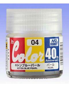 Mr. Hobby, mr-hobby-avc-04-40th-anv-kitten-blue-pearl-10-ml-mr-color, MRHAVC04