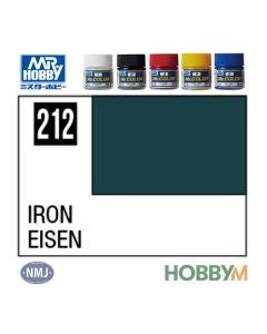 Mr. Hobby, mr-hobby-mc-212-iron-mr-metal-color-10-ml, MRHMC212