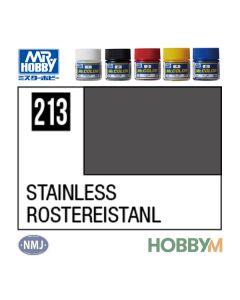 Mr. Hobby, mr-hobby-mc-213-stainless-mr-metal-color-10-ml, MRHMC213