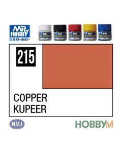 Mr. Hobby, mr-hobby-mc-215-copper-mr-metal-color-10-ml, MRHMC215