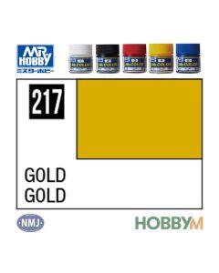 Mr. Hobby, mr-hobby-mc-217-gold-mr-metal-color-10-ml, MRHMC217
