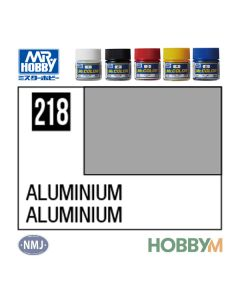 Mr. Hobby, mr-hobby-mc-218-aluminiuim-mr-metal-color-10-ml, MRHMC218