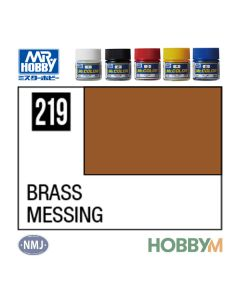 Mr. Hobby, mr-hobby-mc-219-brass-mr-metal-color-10-ml, MRHMC219