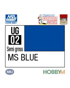 Mr. Hobby, mr-hobby-ug-02-ms-blue-10-ml-gundam-color-mr-color, MRHUG02