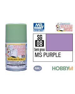 Mr. Hobby, mr-hobby-sg-08-ms-purple-100-ml-gundam-color-spray, MRHSG08