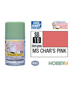 Mr. Hobby, mr-hobby-sg-10-ms-chars-pink-100-ml-gundam-color-spray, MRHSG10